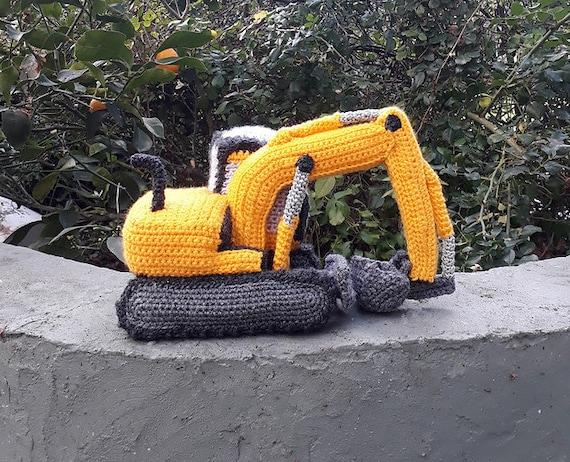 Digger Crochet Pattern