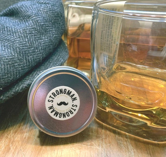 Special Edition Whisky Scent Strongman Wax (Contact for Whole Sale Pricing)