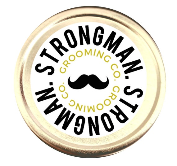 Strongman Mustache Wax. Vintage style wax. Tons of unique scent options  (Contact for Whole Sale Pricing)