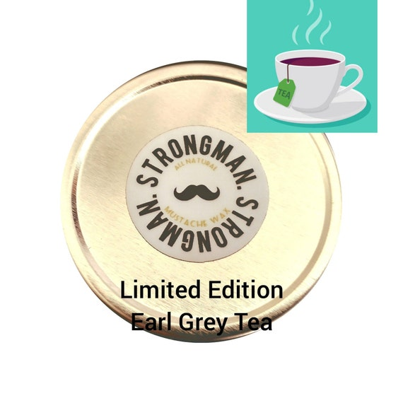 Limited Edition: Earl Grey Tea scented Mustache wax  (Contact for Whole Sale Pricing)
