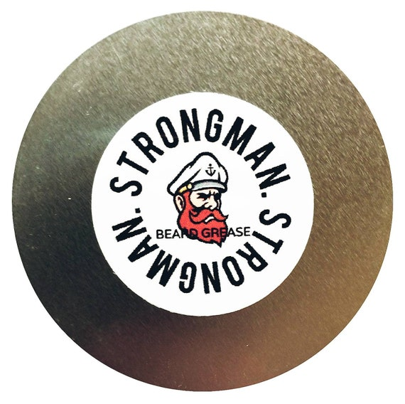 Strongman Beard Grease (Balm/Butter) 2oz Tin  (Contact for Whole Sale Pricing)
