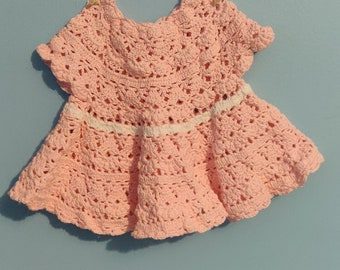 CROCHET PATTERN Christening gown dress Baby ensemble bonnet bootees occasion 226