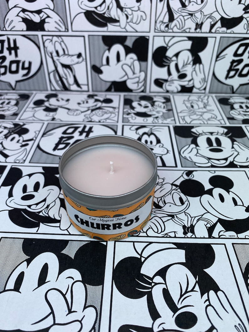 Disney Inspired Churro Scented Candle /& Wax Melts