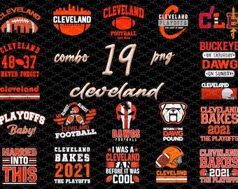 AFC North Champion Cleveland Browns PNG Format The Cleveland Browns Lover Gifts The Cleveland Browns Sublimation Design