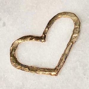 BR302 20 or 50 pcs BULK Bronze Heart Scroll Filigree Charms-US Seller 4