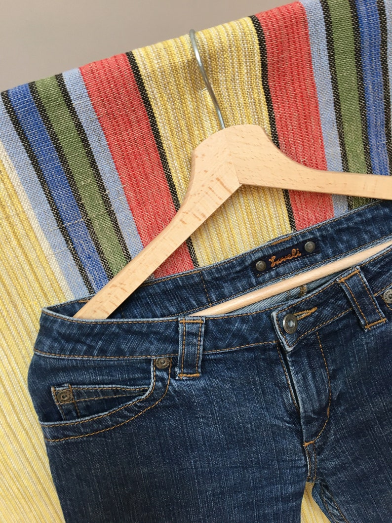vtg A-5 90s Pants for Women size S Nineties Style 80s blue Jean Pants Women jeans