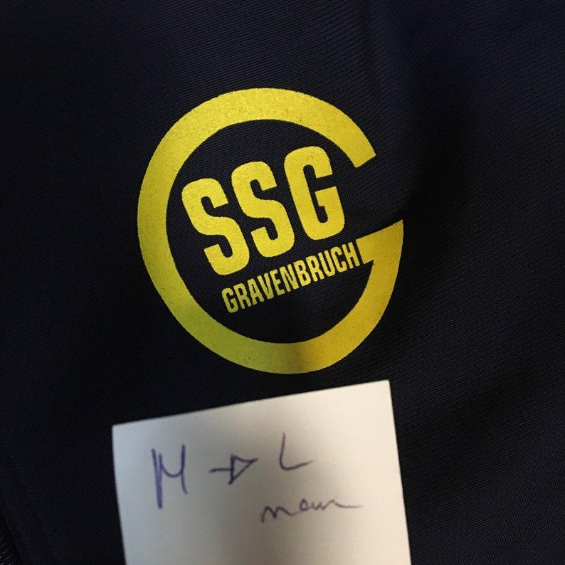 Erica Sweden yellow black 90s Football jacket 90s Men retro top vintage 90s Size Men M to L