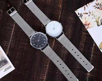 Arabic numeral watch | Etsy