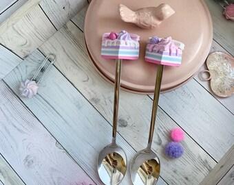 Tea spoon set - Christmas gift