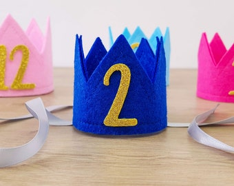 Dog Birthday Crown | Cat Party Hat with Age | Custom Dog Crown | Any age Dog Hat | Pet Birthday Accessories | Pet Pawty Outfit