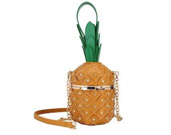 Cute Pineapple Handbag | Women's Pineapple Evening Purse