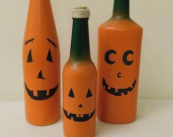 Jack'O'Lantern Bottle