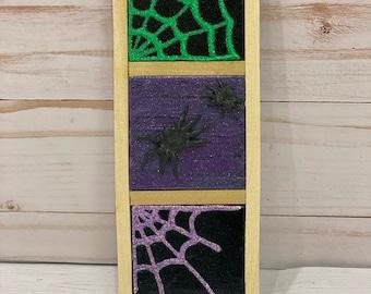 Framed Mini Canvas-Three Halloween