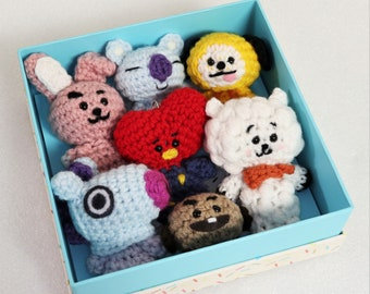 BT21 Mang Plush ♥ Crochet Pattern — MooeyAndFriends | 270x340