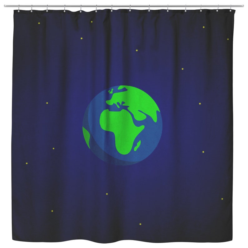 Unique Shower Curtain Fabric  Shower Curtain Shower Drapes Shower Curtains Bath Curtains World Shower Curtain Printed Shower Curtain