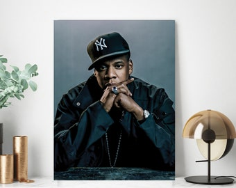 Hip Hop Art Bachelor Pad Art Jay Z Poster Rap Poster Jay Z Art Black /& White Print Minimalist Wall Art Rocafella Hip Hop Poster
