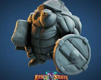 Tortle Cleric | Epics 'N' Stuff | Tabletop & RPG Miniature