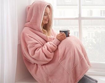 Snuggie Super Soft Hoodie Travel Pillow