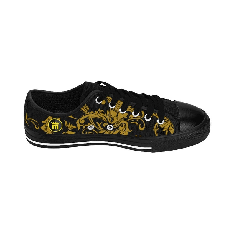MightyMood Sneakers black&gold NHISuz7y