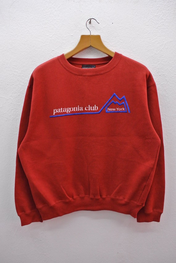 Pick!! Vintage Patagonia Club Sweatshirt Tough Wea