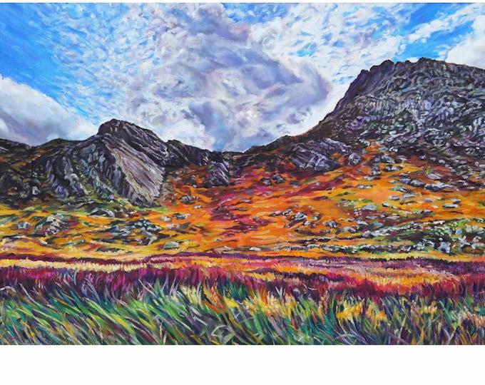 Fine Art Giclee Print, Snowdonia Print