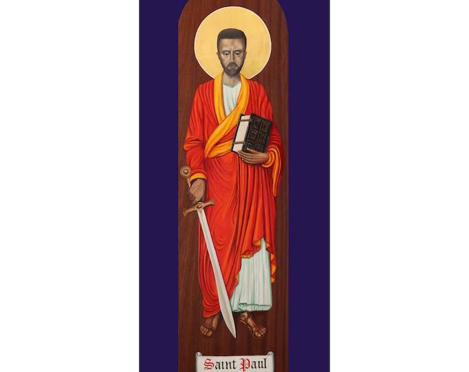 Religious Greetings Card, St Paul card