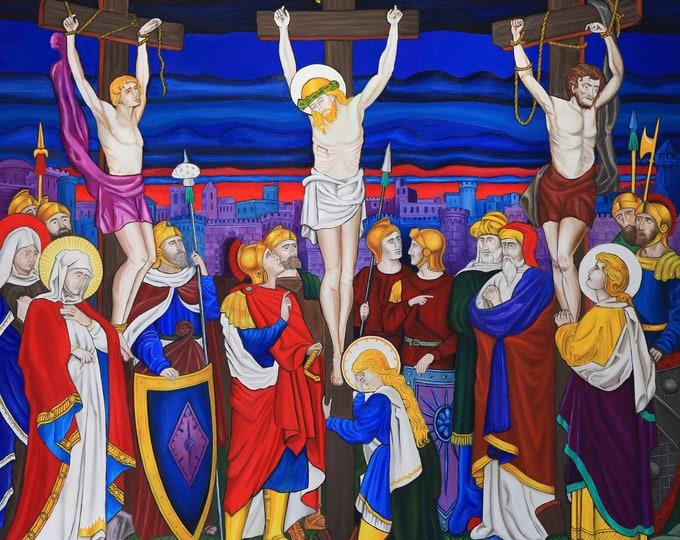 Religious giclee print