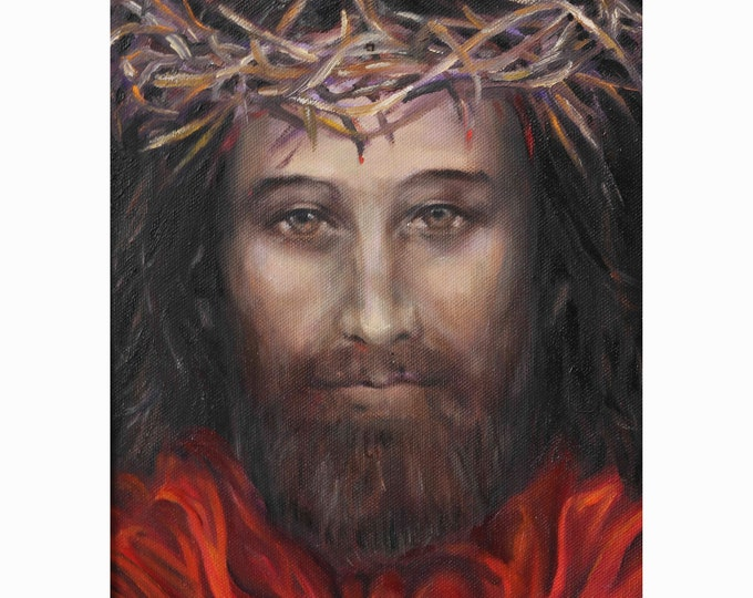 Religious giclee print, Jesus print