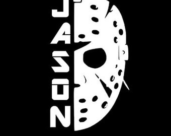 Vinyl Sticker Decal 4 x 3.5 FREE S/&H US BUYERS Friday the 13th Jason Voorhees Straight Outta Camp Crystal Lake