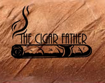 Frosted Etched Habanos Cigar Humidor Decal 11.0in Wineador Humidor Sticker