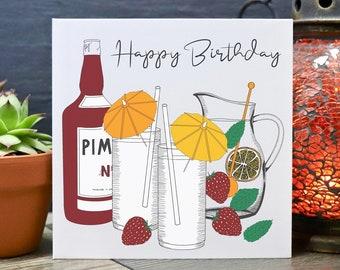 Pimmspiration Pimms Card Pimms Lover Pimms Card Pimms