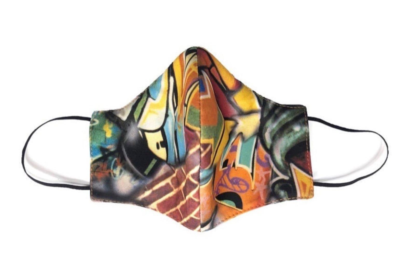 Graffiti Designer Face Mask