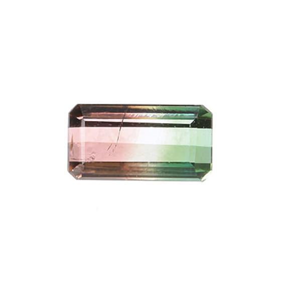 Tourmaline (Tri-color) 1.40 ct / Brazil