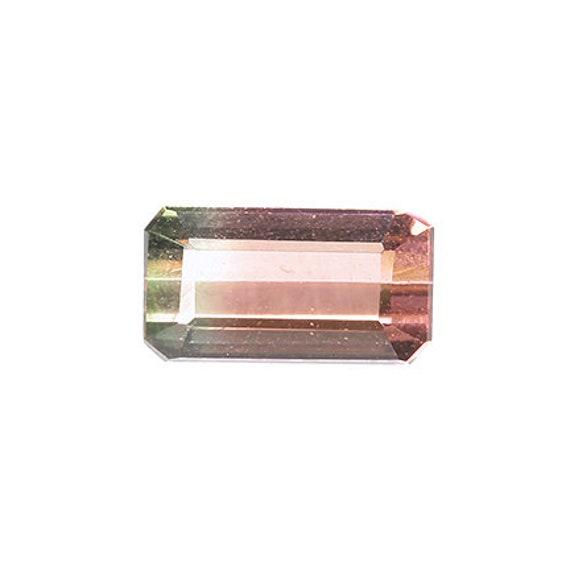 Tourmaline (Tri-color) 1.60 ct / Brazil