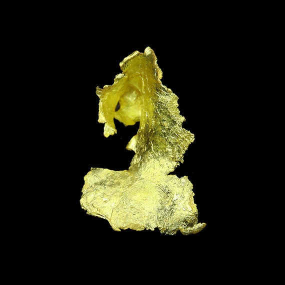 Leaf Gold / Locality - Little Johnnie Mine (Ibex Mine), Leadville, Lake County, Colorado
