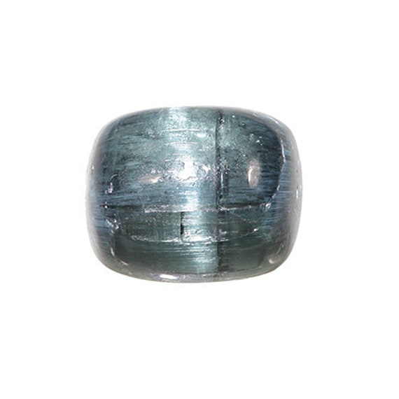 "Tourmaline (""Indicolite"") (Cat's Eye) / Locality - Laghman Province, Afghanistan"