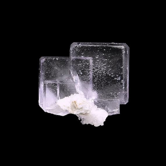Fluorite (GEM quality) / Locality - Llamas Quarry, Duyos, Obdulia vein, Caravia District, Caravia mining area, Asturias, Spain