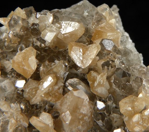 Monazite-(Ce) with Quartz / Locality - Siglo XX Mine (Siglo Veinte Mine), Llallagua, Bustillo Province, Potosi Department, Bolivia