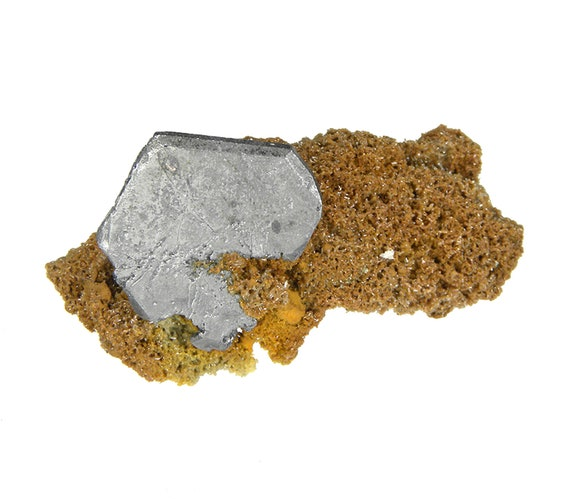 Bournonite on Quartz / Locality - Viboras Mine, Machacamarca, Potosi Department, Bolivia
