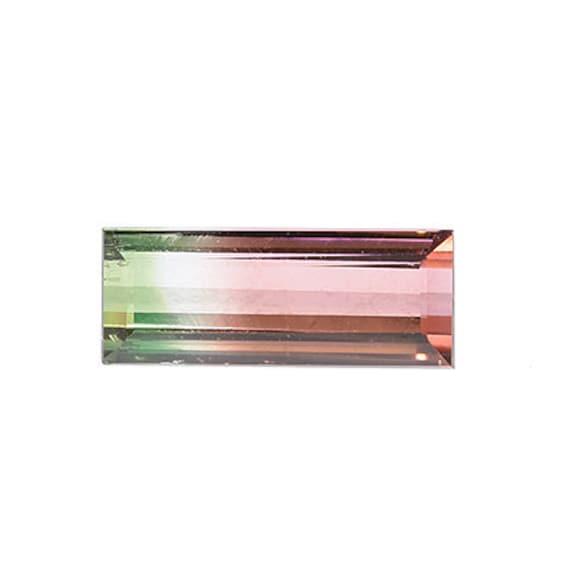 Tourmaline (Tri-color) 2.68 ct / Brazil