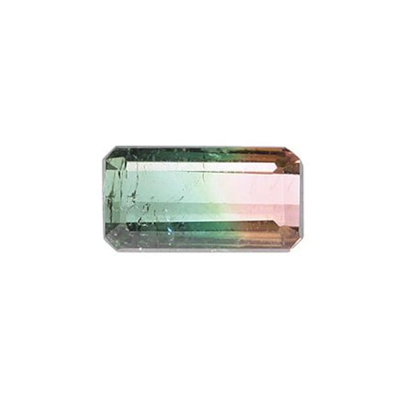 Tourmaline (Tri-color) 1.36 ct / Brazil