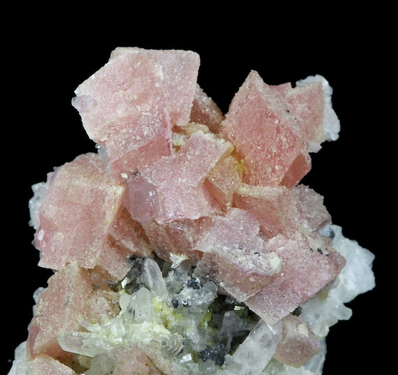 Rhodochrosite / Locality - Zanett Tunnel, Grizzly Bear Mine, Ouray County, Colorado