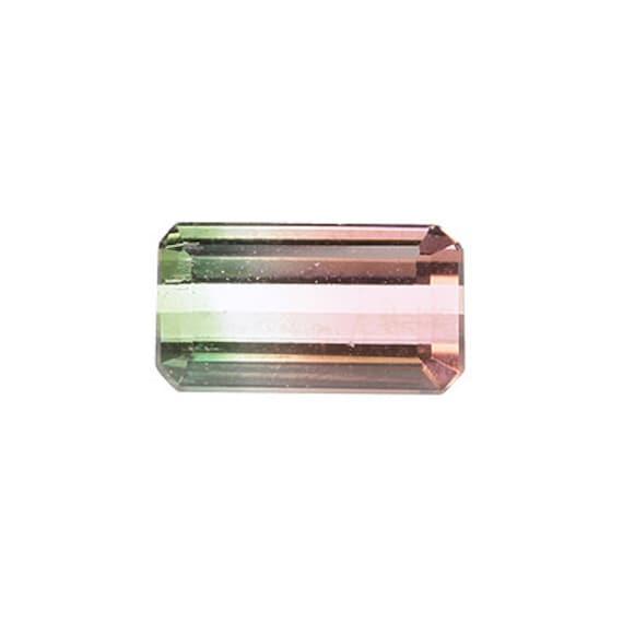 Tourmaline (Tri-color) 1.30 ct / Brazil