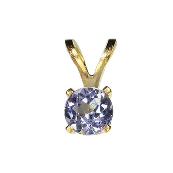 Tanzanite Pendant in 14kt Yellow Gold