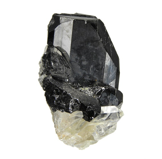 Ferberite with Quartz / Locality - Siglo XX Mine (Siglo Veinte Mine), Llallagua, Bustillo Province, Potosi Department, Bolivia