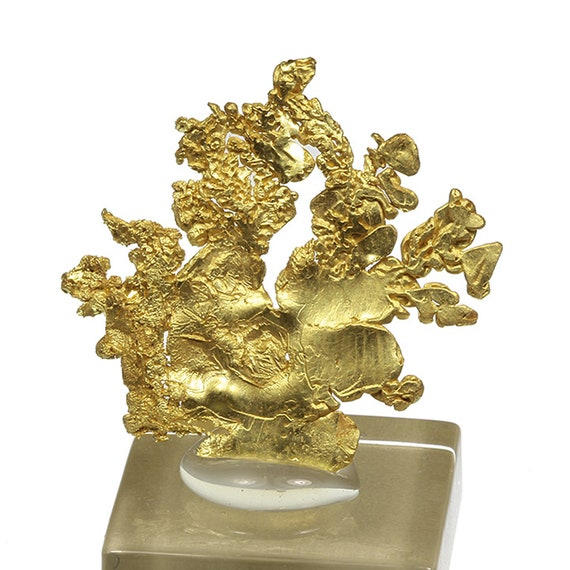 Gold / Locality - Eagle's Nest Mine (Mystery Wind Mine), Placer County, California