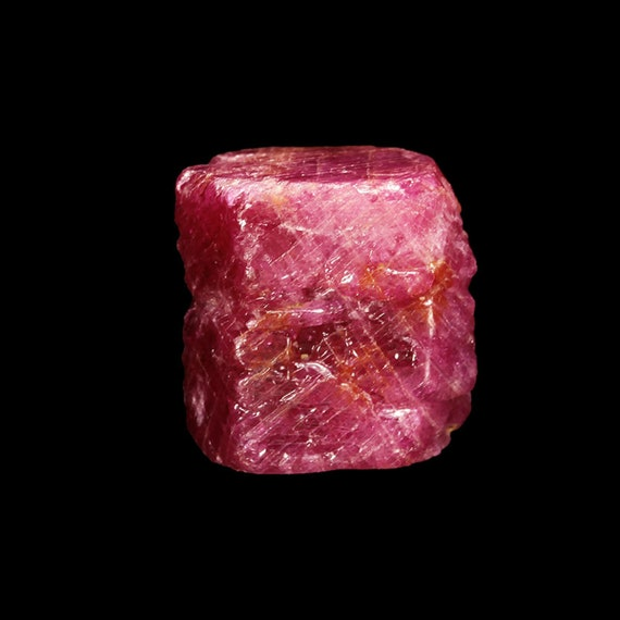 "Corundum (var: Ruby) (Doubly-terminated ""floater"") / Locality - Mogok Valley, Myanmar (Burma)"