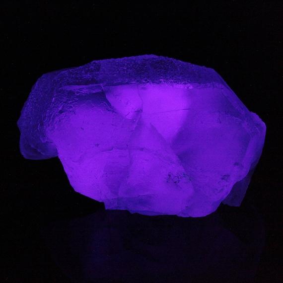 "Fluorite (LARGE bi-color ""Spinel-twin"") (1,444 grams) / Locality - Chumar Bakhoor, Pakistan"