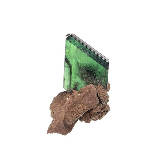 Vivianite on matrix / Locality - Tomokoni adit, Canutillos Mine, Machacamarca District (Colavi District), Potosi Department, Bolivia