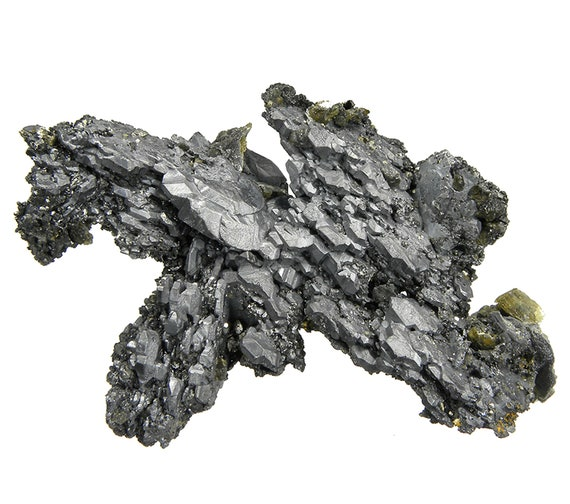Bournonite (unique specimen) / Locality - Viboras Mine, Machacamarca, Potosi Department, Bolivia